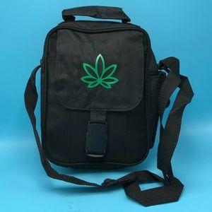 Handbags - Marijuana Weed Pot Leaf Crossbody Carry Bag NWOT